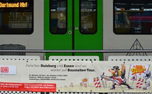 Nichts geht zwischen Duisburg und Essen. Und kaum etwas geht zwischen Dortmund und Essen